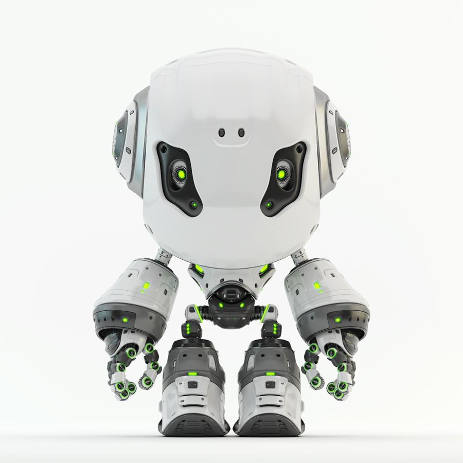 Bbot smart robot in white